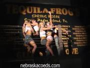 Stunning Chicks Dance And Strip In Front Of Males In A Gathering