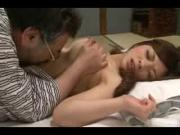 Young Jap Slut Pleasured By Older Man