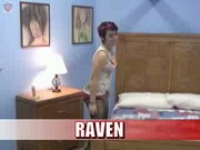 Raven the red haired bitch