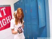 Sweet Teen Scolded By Instructor