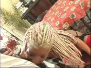 Babelicious Blonde Girl Services Bangs This Long Dark Dick
