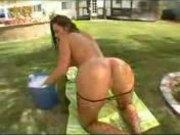 Naomi Russell enjoys it alot