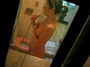 korean girl showering voyeur