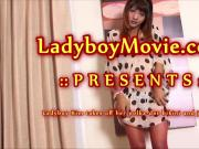 Ladyboy Kim Strips And Strokes