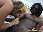 Horny Whore Gets Insanely Fucked By This Dark Throbbing Pole