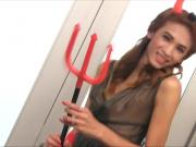Devilish Ladyboy Giftza Toying Her Ass