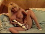 Mature women on the bed