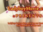 Ladyboy Bunny Mos Fucked Bareback