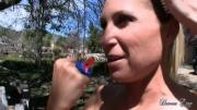 Skilled Devon Lee And Zoey Tongue Same Manhood Outdoors