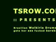 Latina TS Walkiria Drumond Bareback