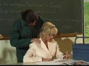Horny Principal Gets A Lesson!