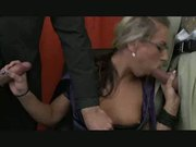 Bi Threesome at the Office