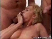 GangBang - Fucking all her Holes