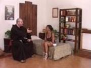 Italian nun / monk sex video
