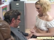 Violet fucks the teacher