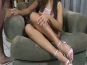 Zafira Gives A Hot Foot Job