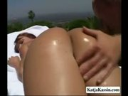 Katja Works On A Hard Cock