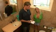 Diamond Foxxx Bangs The Plumber