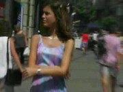 Jana Miartusova:Sexy Czech Naked In The Streets