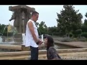 Public-Sex By The Fountain