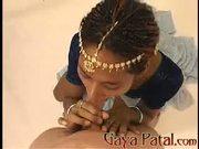 Gaya Patals Double Blowjob Scene