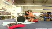 Kick Boxer Audrey Bitoni Fucks In The Ring