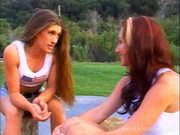 In the park lesbo preference pussy over cock