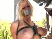 Squealing Sex Slave Punished
