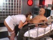 Big boobed nurse Brooke Haven fucking in the hospital