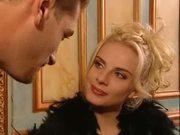 Rich blonde gets nasty!