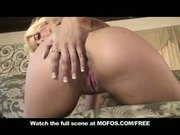 SEXY BIG TIT & ASS BLONDE FREAKY SLUT MASTURBATES USING TOYS