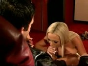Nikki Benz & Krystal Steal Ride This Euro Stud