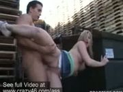 Sunny Lane Banged outdoors