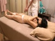 Schoolgirl at massage parlor Voyeur