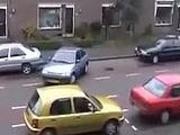 Epic Blonde Woman Parking Fail