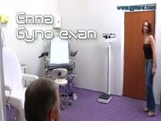 Emma visits her doctor for Gyno Examination