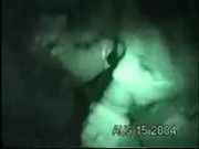 Nightcam filming two dicks and one chick