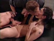 Threesome With Hot Anal