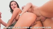 Asa Akira Double Penetration and Double Anal