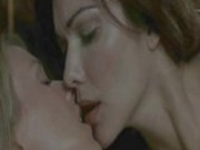 Laura Harring & Naomi Watts Kissing
