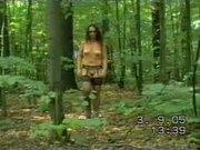 Nudist hicking