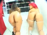 Pinky & Sophia Hot sistas with phat asses fuck hard