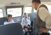 Schoolgirls Fuck busdriver