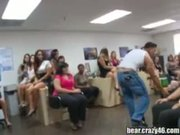 Horny girls fucking and sucky at a house party