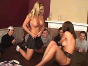 Haley Paige,Audrey Hollander And Kelly Kline Pounded In Front Of Fraternity