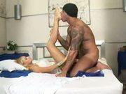 Horny brazilian spreads her legs