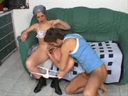 Granny Anal Pumping