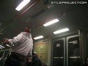 Drunk Gets Smashed Through Window By BART Cop