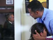Latina teen Victoria Valencia fucked in the office