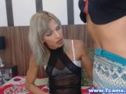 Tranny Best Friends Pleasure Each Other Orally